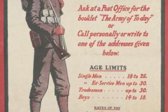 Poster: How to join the Army